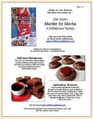 Murder by Mocha Recipes PDF