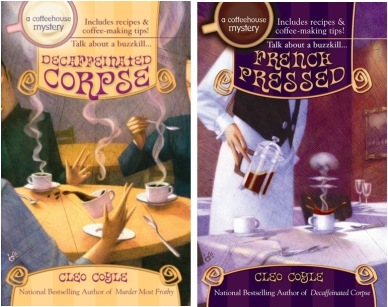 CoffeehouseMystery-Covers-Books-5-6-Cleo-Coyle