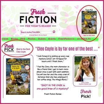 Cleo-Coyle_Shot-in-the-Dar_FreshFiction_Fresh-Pick