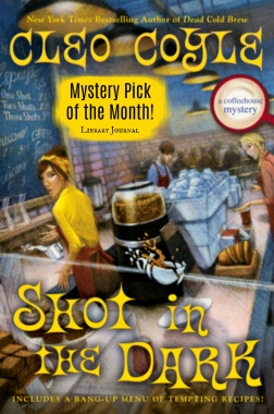 """SHOT IN THE DARK is a Library Journal """"Mystery Pick of the Month!"""""""