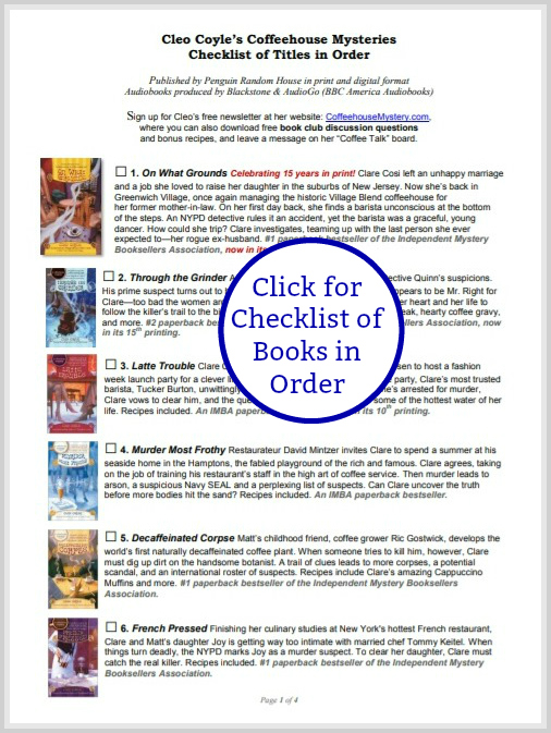 CleoCoyle-CheckList-of-Books-LINK-to-URL